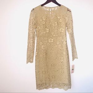 NWT Nanette Lepore lace dress Size 4